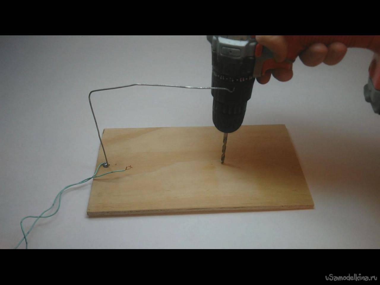 Станки для резки пенопласта делаем своими руками