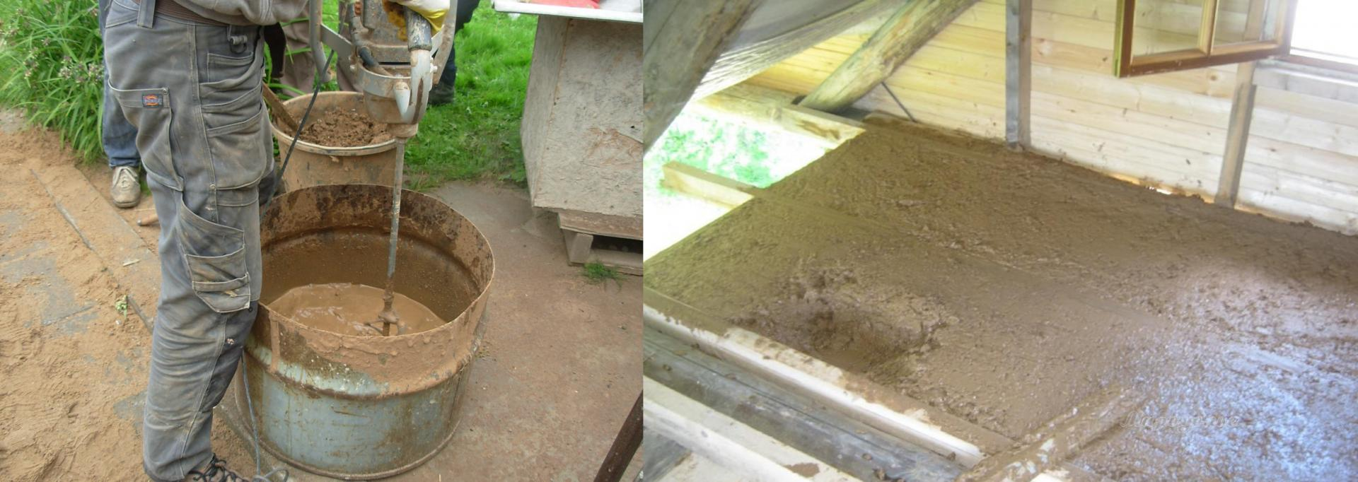 Лучшее решение для экодома: уникальные свойства глины с опилками