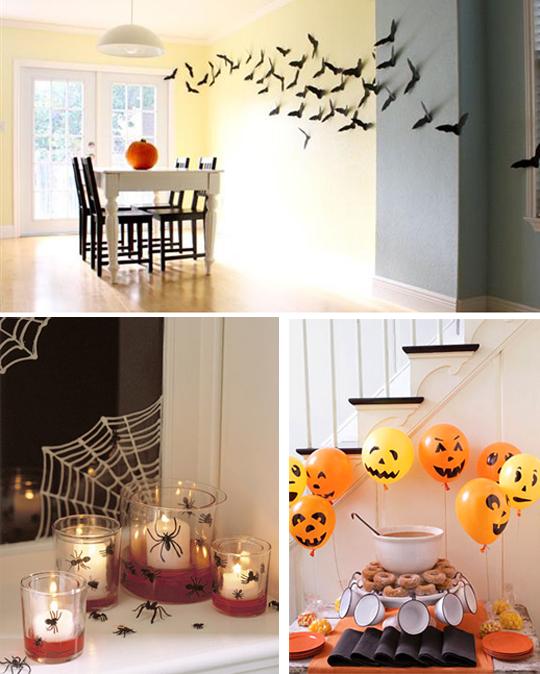 Недорогое украшение дома на хэллоуин своими силами