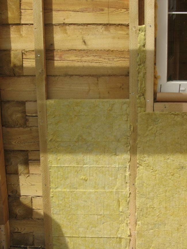 Как утеплить деревянный дом плитными утеплителями изнутри