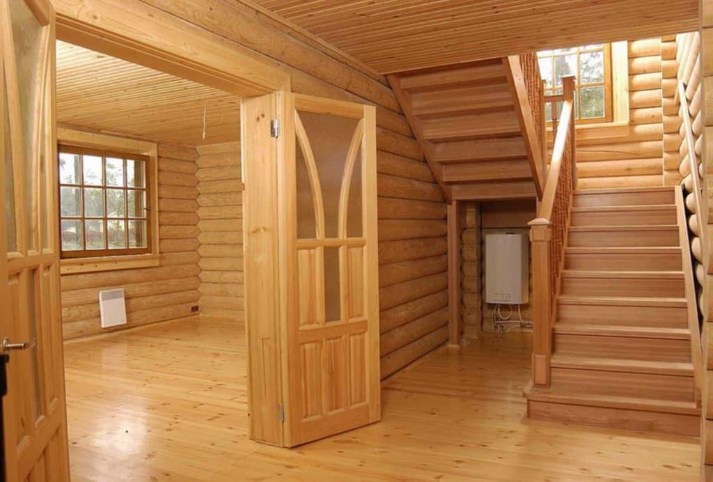 Внутренняя отделка дома под ключ.стоимость отделочных работ в коттедже.