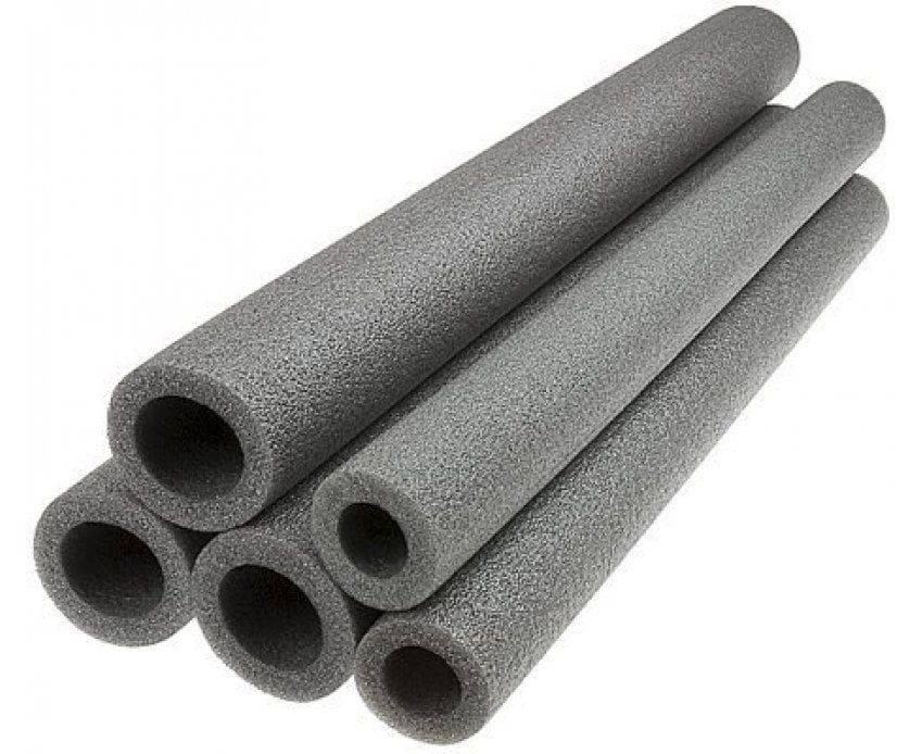 Утеплитель для труб из вспененного полиэтилена: характеристики изоляции, размеры и монтаж