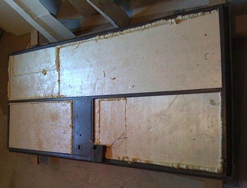Как утеплить металлическую входную дверь: пошаговая инструкция