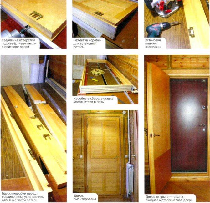 Особенности утепления деревянной двери в частном доме