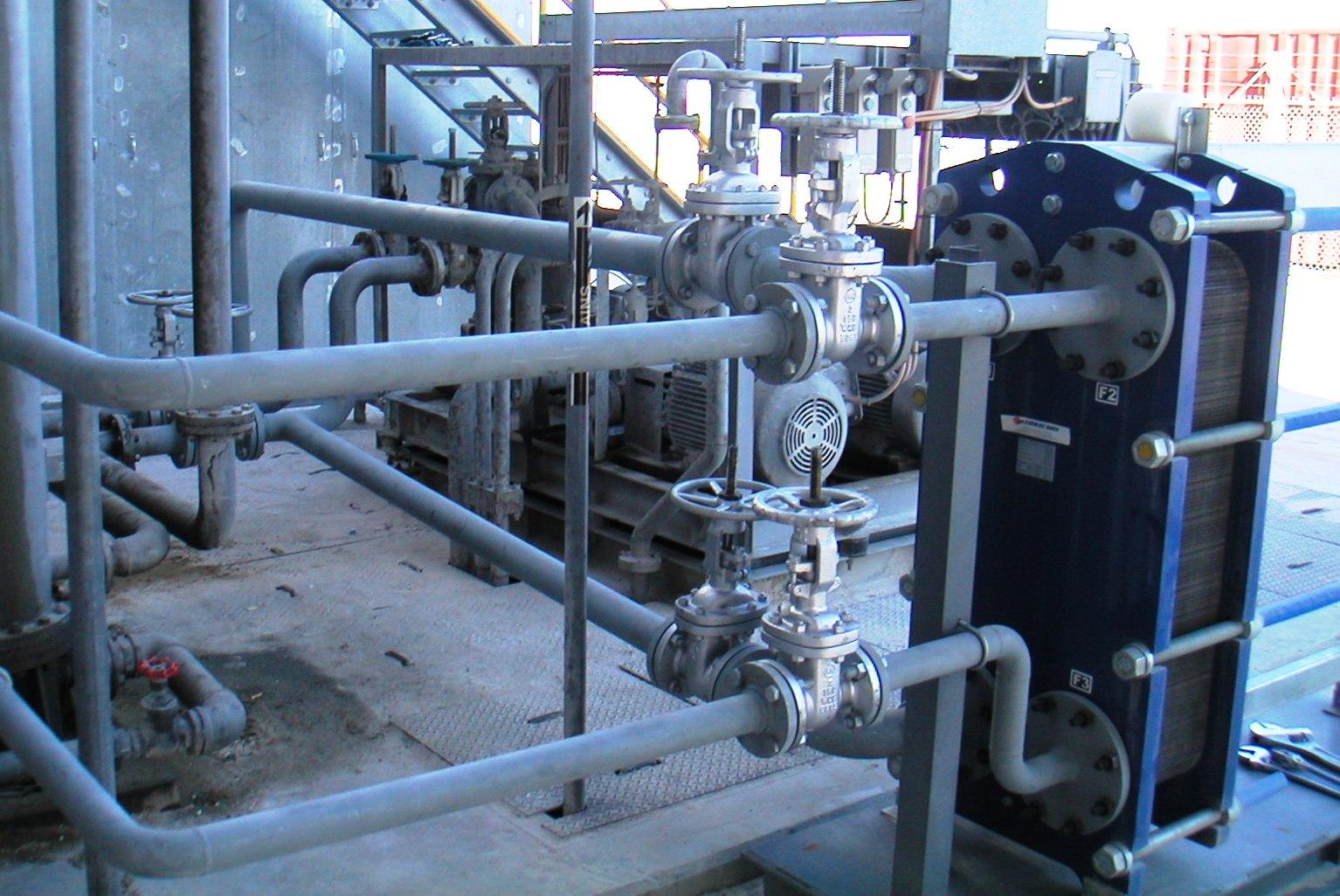 Теплообменники для горячего водоснабжения