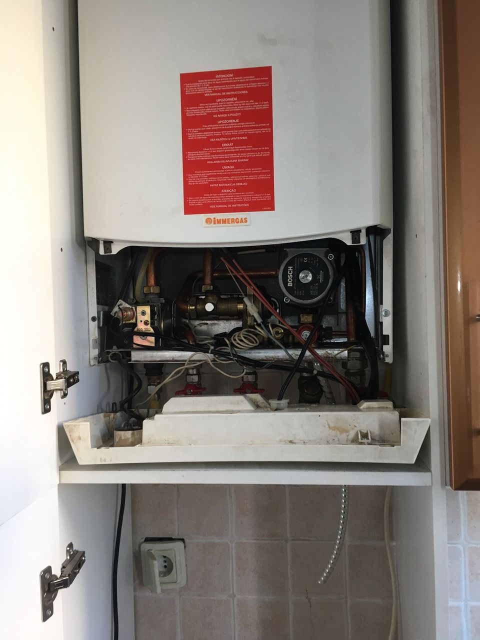 Как промыть теплообменник газового котла своими руками