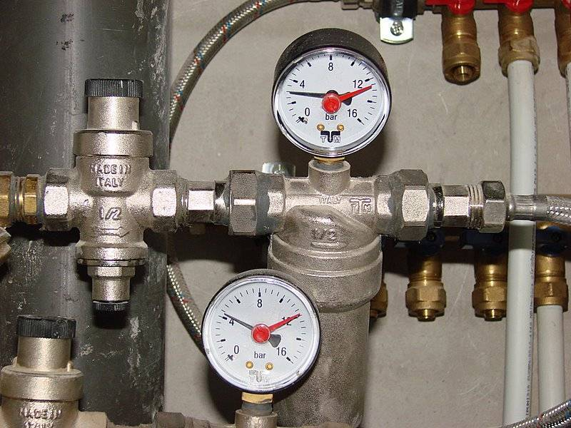 Норматив давления воды в водопроводе