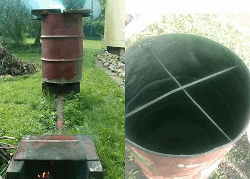 Коптильня холодного копчения своими руками из бочки 200 л коптильня холодного копчения своими руками из бочки 200 л