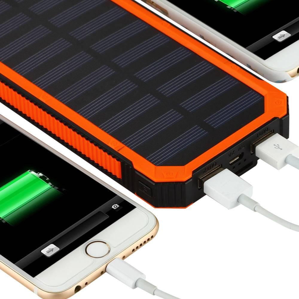 Зарядные устройства на солнечных батареях для автомобиля и смартфона