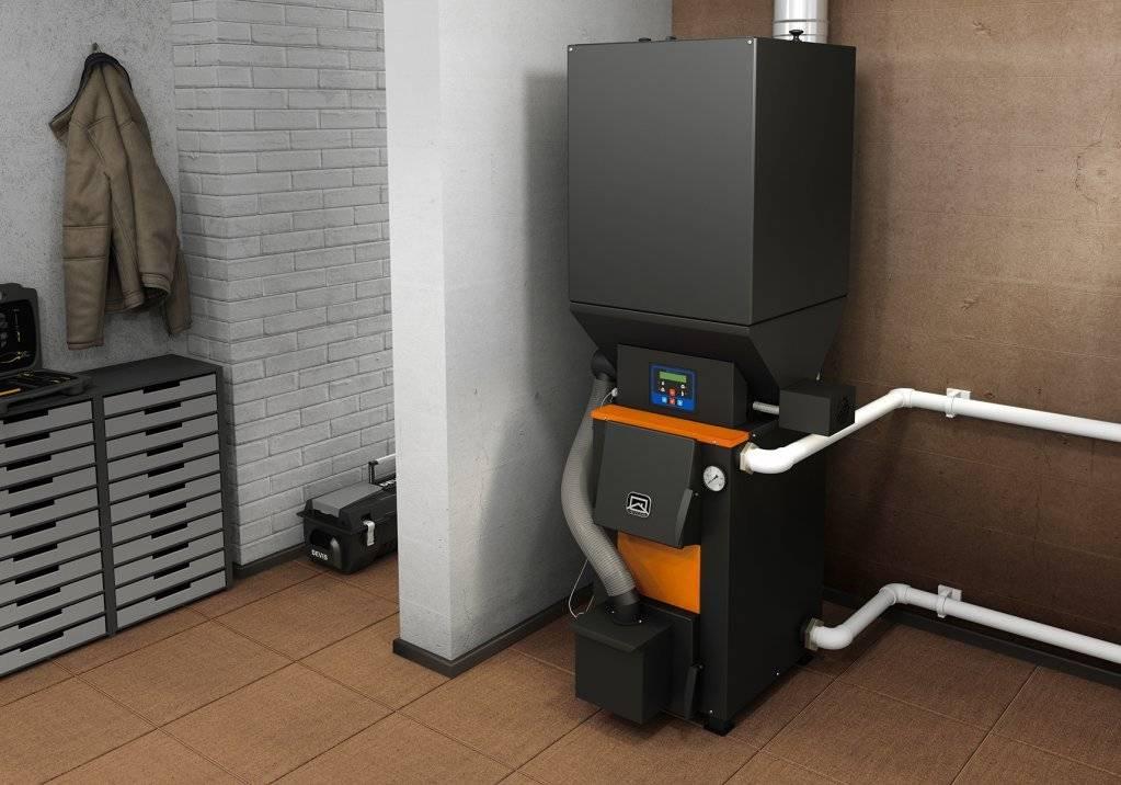 Принцип работы и особенности работы твердотопливных котлов воздушного отопления