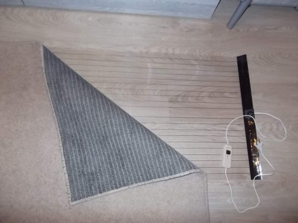 Теплые электрические коврики - лучшее отопление