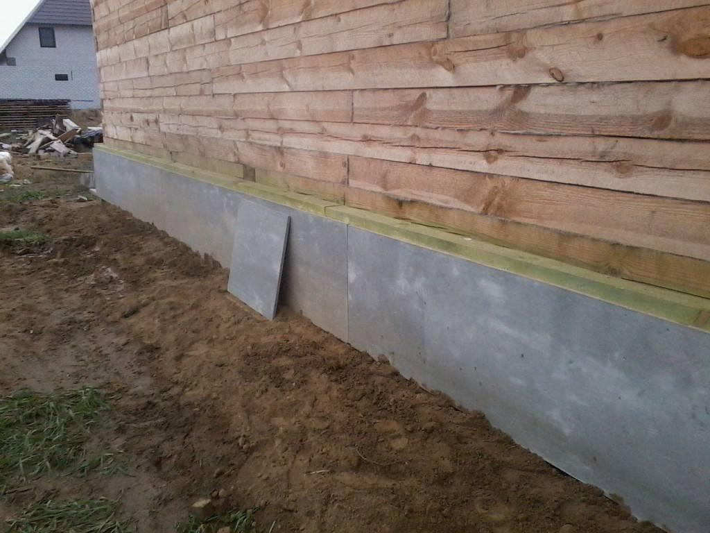 Утепляем фундамент деревянного дома