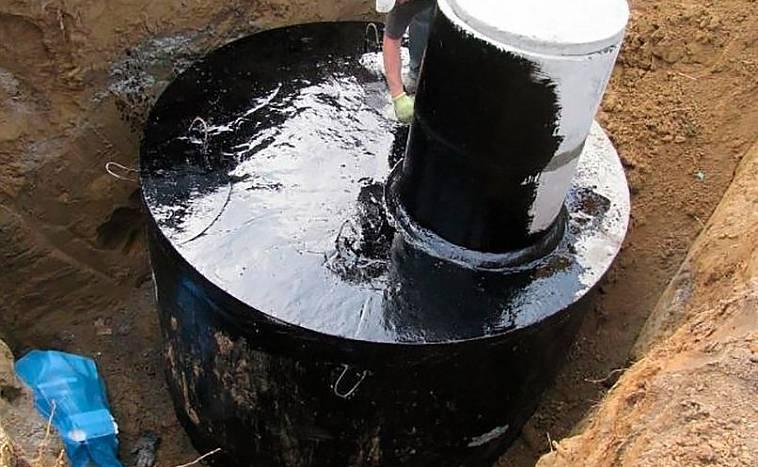 Гидропломба для колодца или как быстро и грамотно заделать щель в бетонном кольце