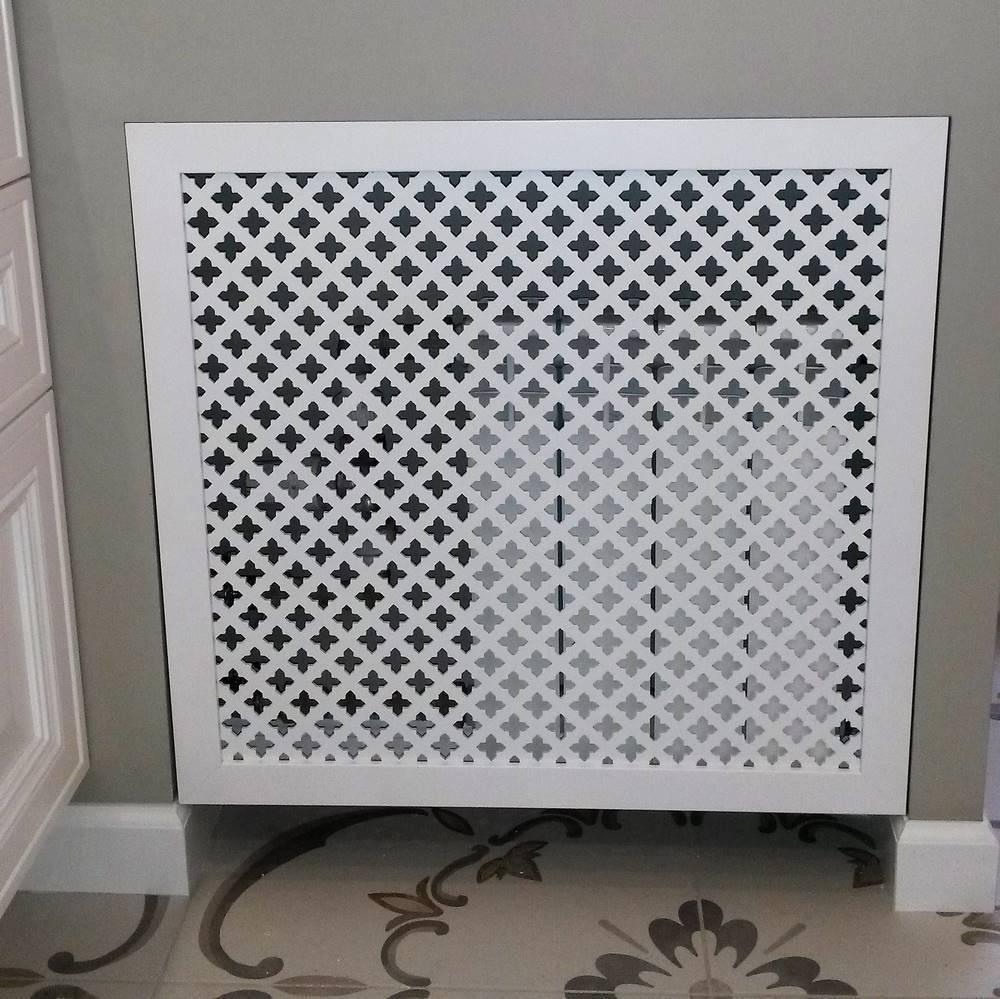 Крепление решетки на отопительный радиатор — как правильно установить