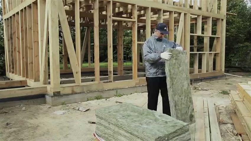 Утепление каркасного дома снаружи: материалы и схема обустройства теплоизоляции