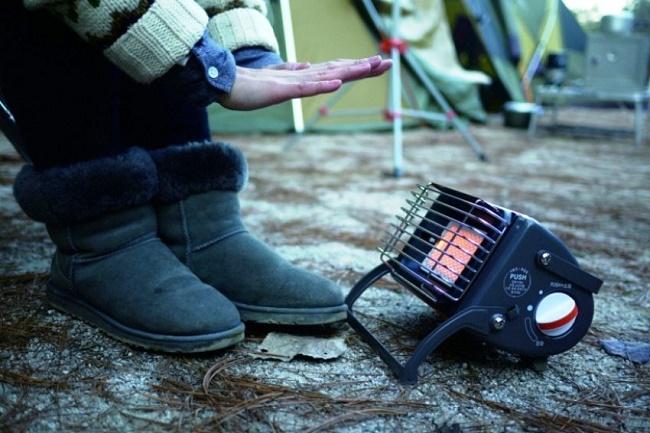Выбор обогревателя для палатки, каталитические газовые обогреватели