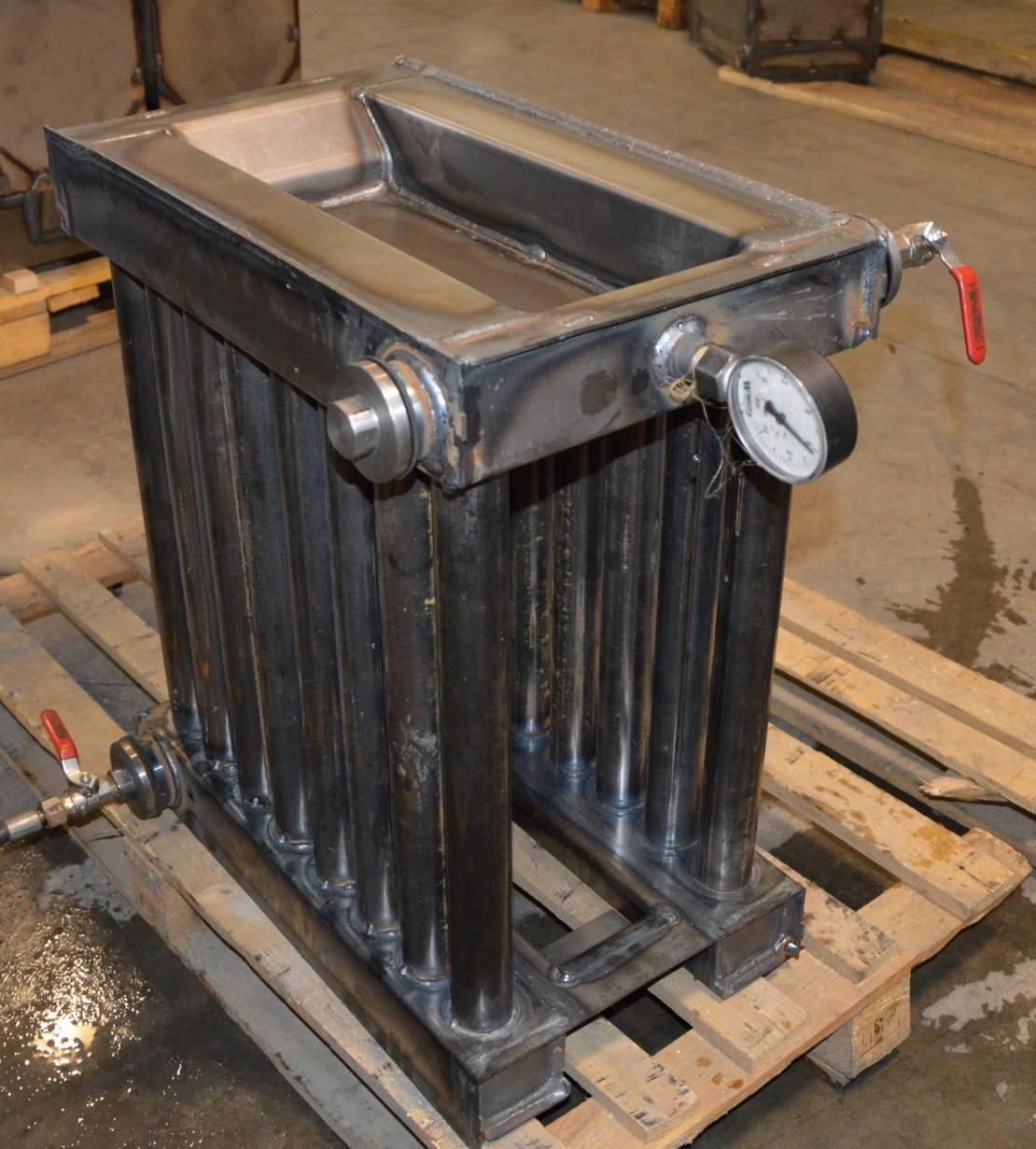 Теплообменник для банной печи на дровах: особенности установки на дымоход дровяного устройства, картинки приборов