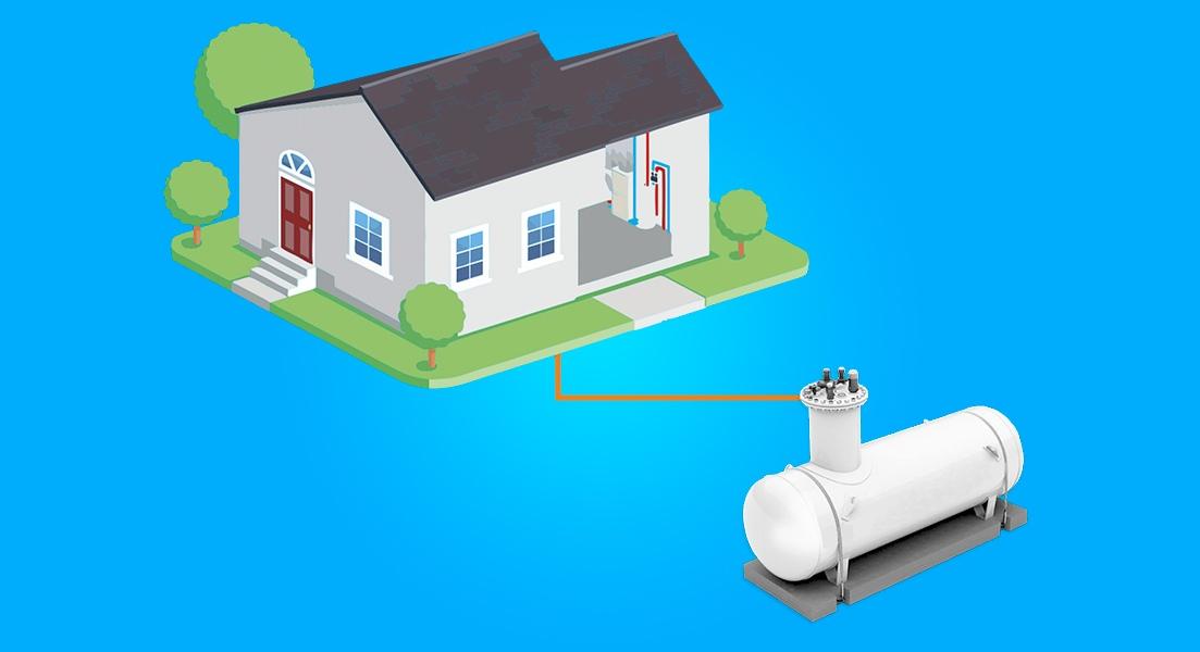Автономная газификация частного дома -устройство и расход газа