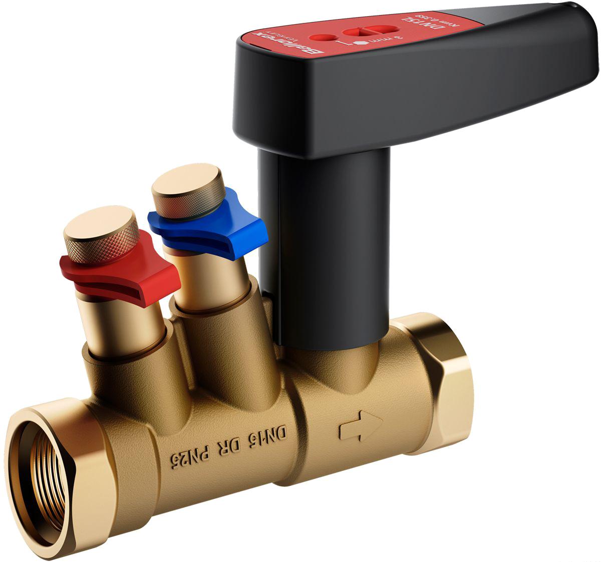 Устройство и монтаж балансировочного клапана для системы отопления