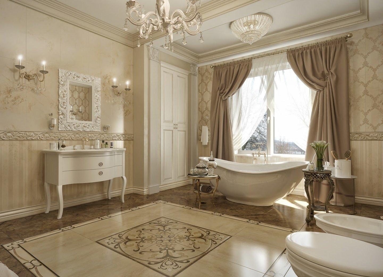 Дизайн интерьера ванной комнаты - 80 фото, оригинальные идеи ремонта и отделки 2019