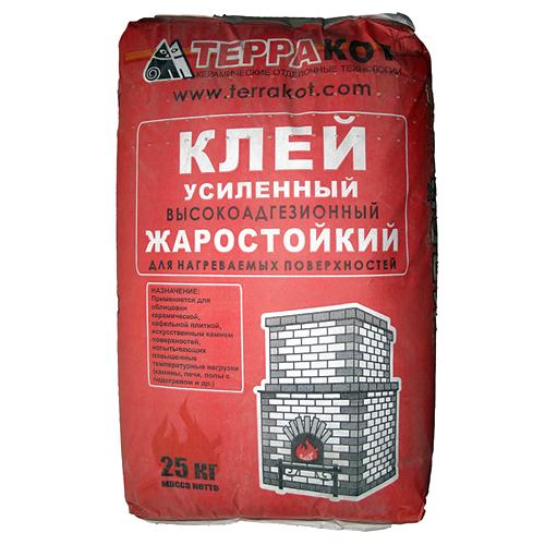 Выбираем термостойкий клей для кладки и облицовки печей и каминов