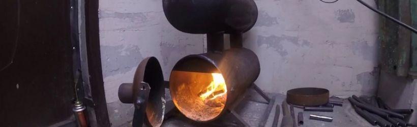 Самостоятельное изготовление печки длительного горения