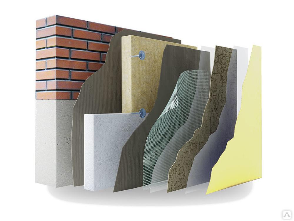 Мокрый фасад - технология | портал фасадного рынка