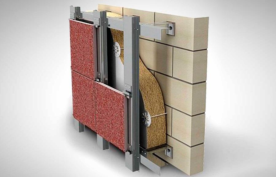 Навесные вентилируемые фасады: инструкция по монтажу