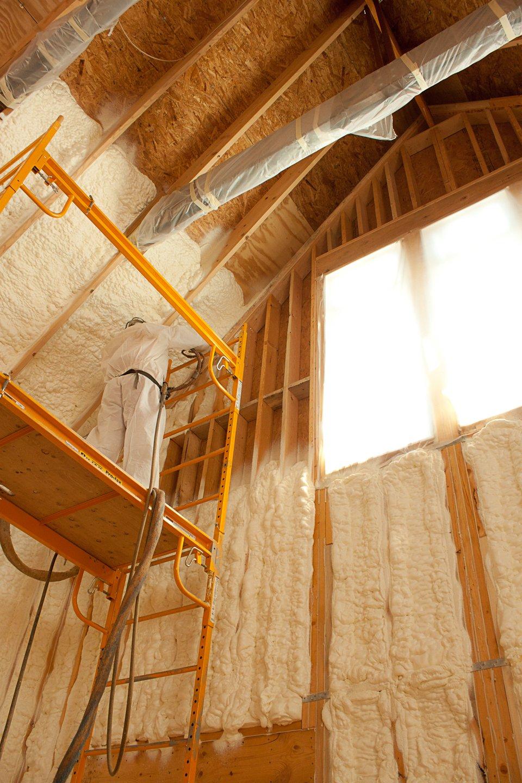 Экологичный утеплитель для каркасного и деревянного дома