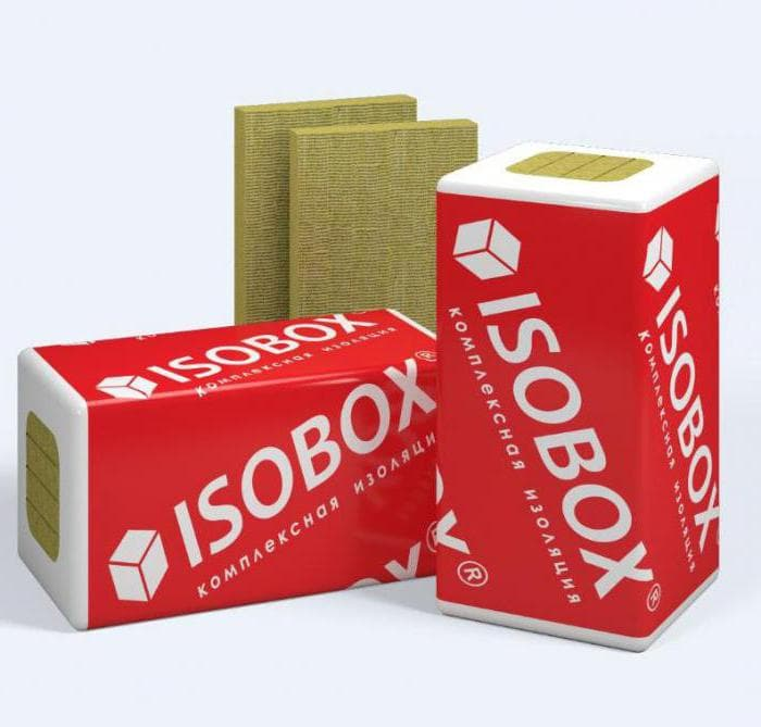Isobox: технические характеристики утеплителя «Экстралайт» и «Инсайд», «каменная вата» толщиной 100 мм