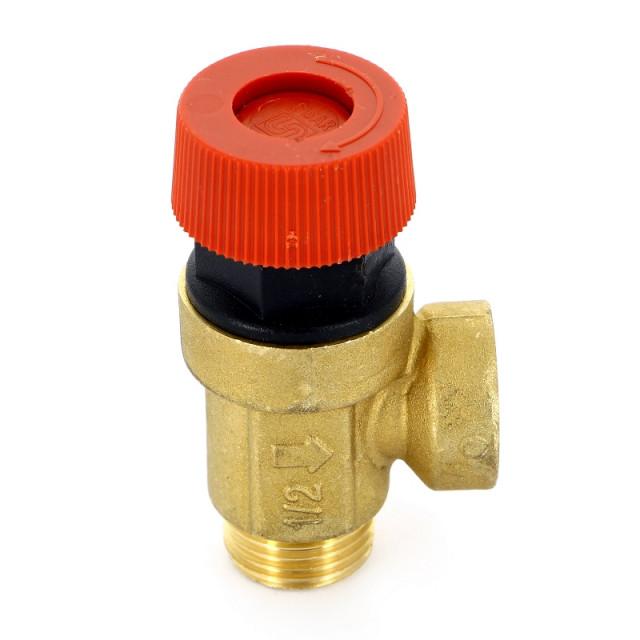Предохранительный клапан для водонагревателя: обратный вариант для бойлера 1/2, принцип работы, продукт для сброса избыточного давления воды
