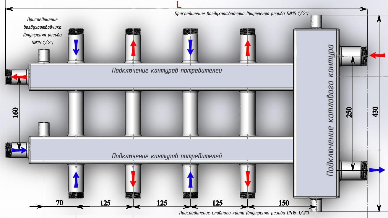 Гидрострелка для отопления и разделитель: принцип работы в системе, назначение и расчеты