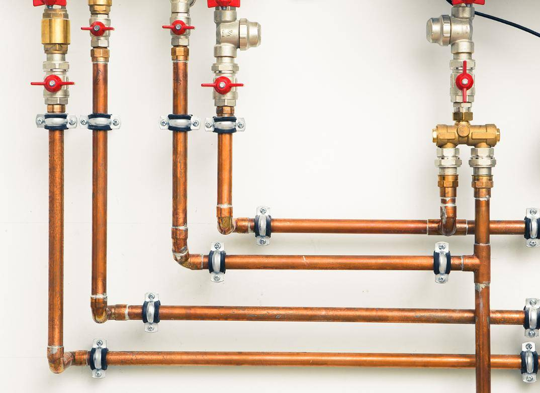Медные трубы для отопления: преимущества, недостатки, монтаж   гид по отоплению