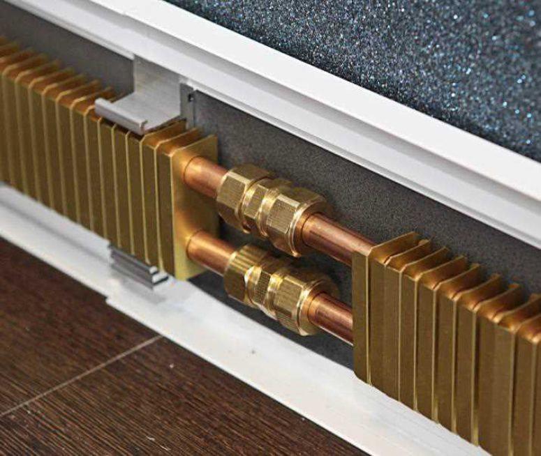 Плинтусный конвектор водяной - лучшее отопление