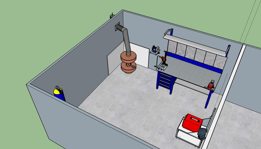 Отопление гаража своими руками