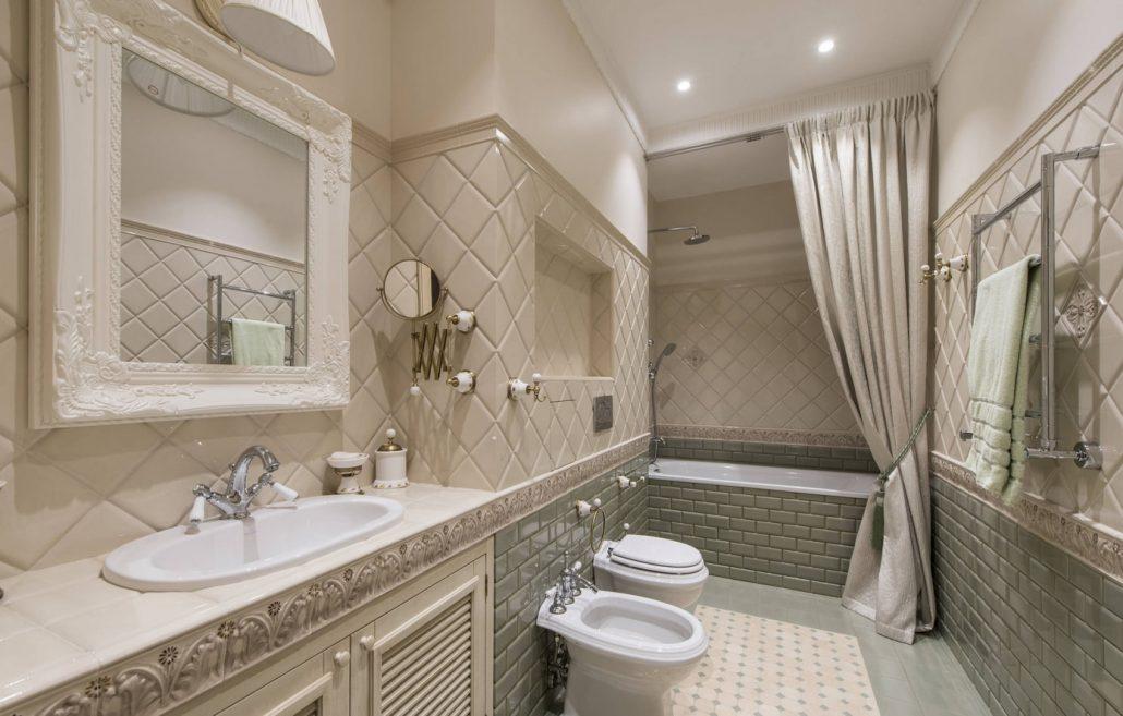 Красивые ванные комнаты в классическом стиле: фото идеи дизайна интерьера / zonavannoi.ru