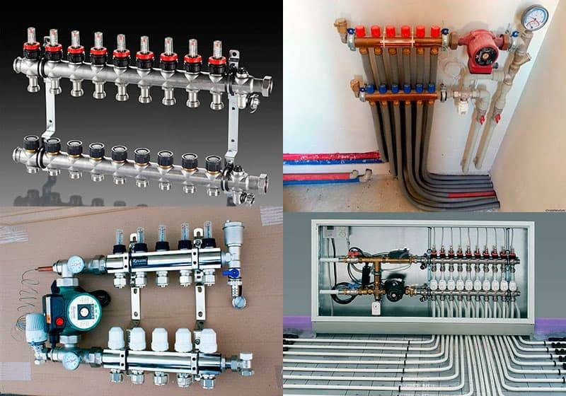Гребенка для системы отопления: обзор правил установки + алгоритм для сборки своими руками | домострой