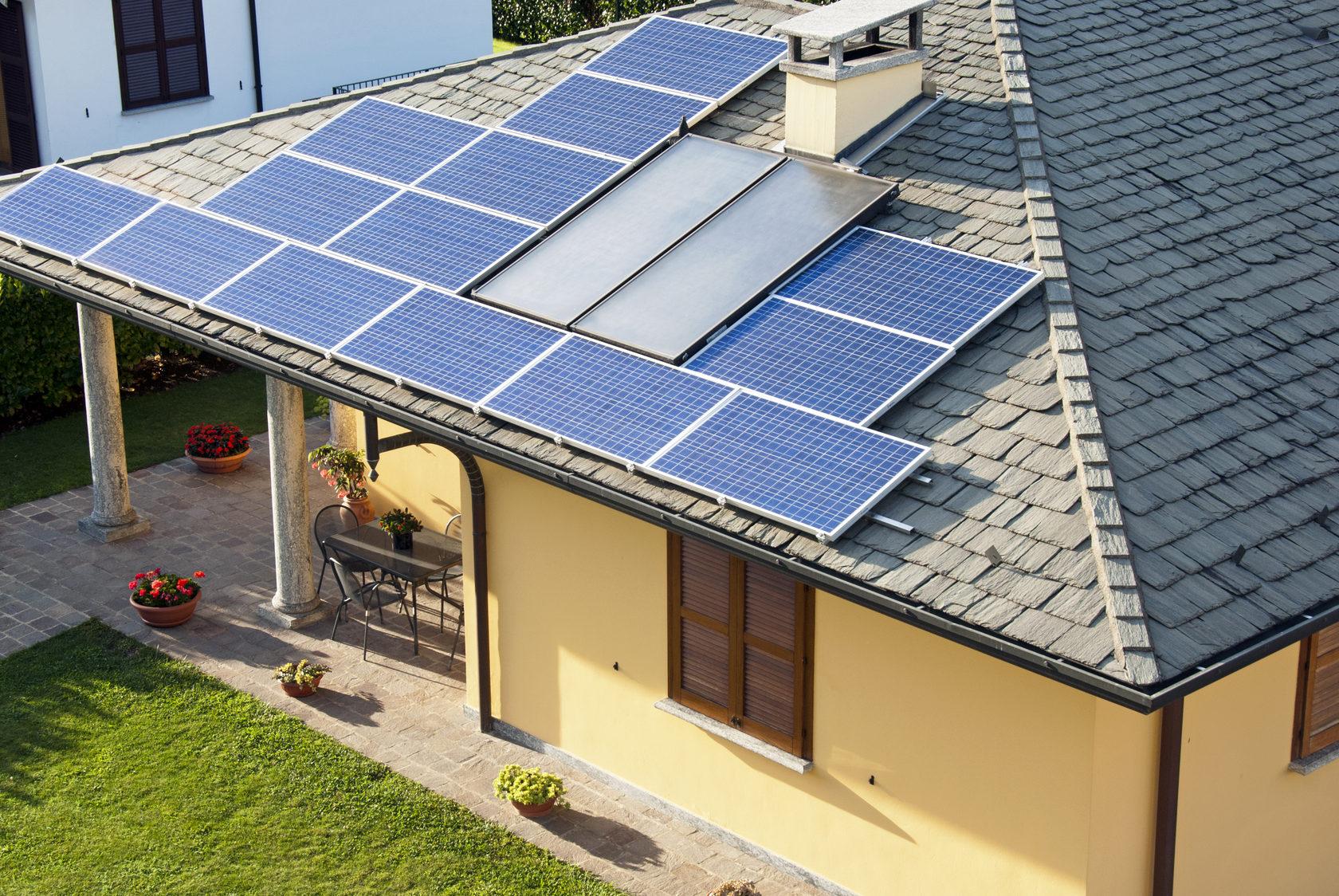 Применение солнечных батарей для электроснабжения дачи