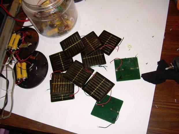 Самодельная солнечная батарея из подручных материалов