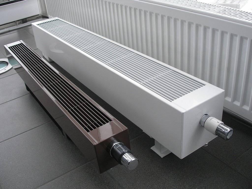 Водяные напольные конвекторы отопления: виды, производители, как выбрать лучший