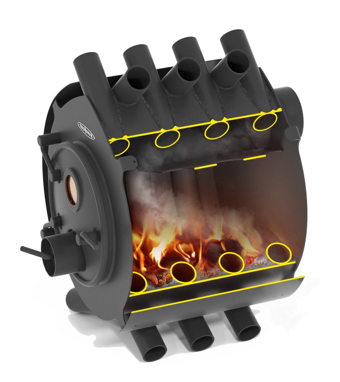 Печь булерьян длительного горения: история, конструкция, принцип действия