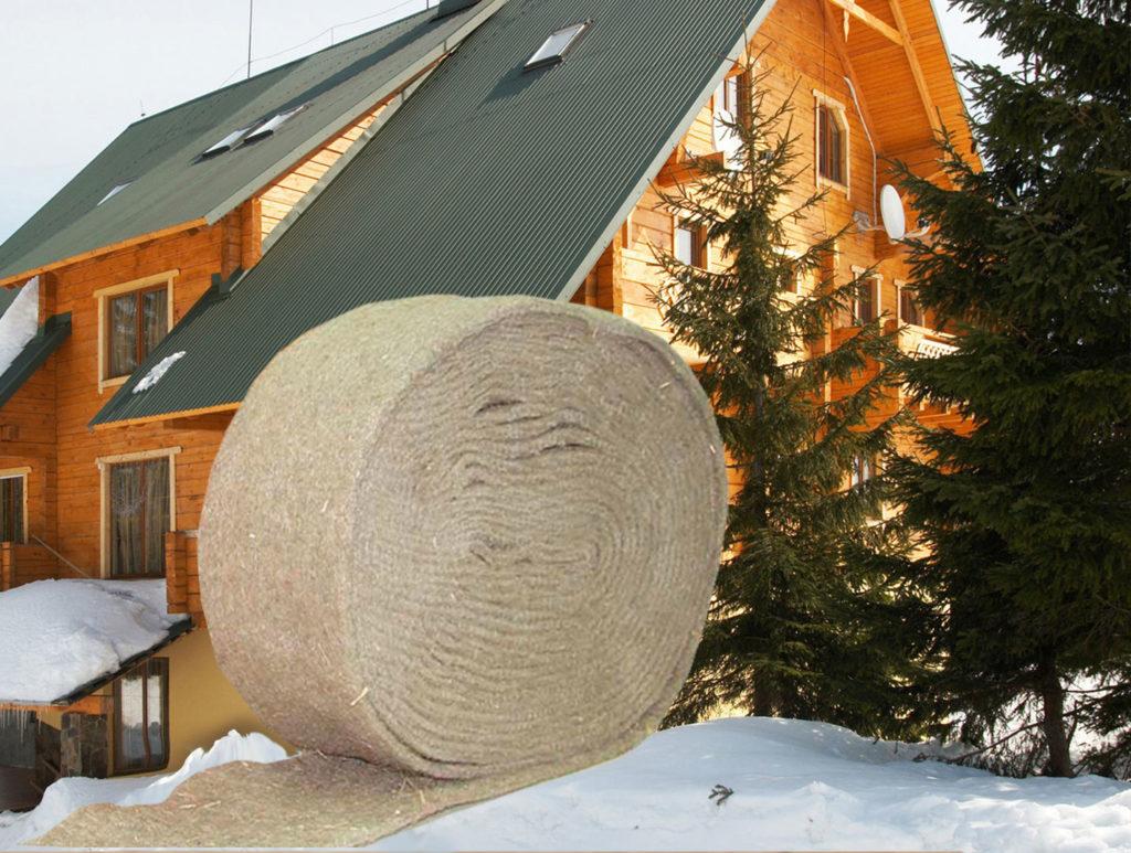 Нюансы выбора межвенцового утеплителя для деревянного дома