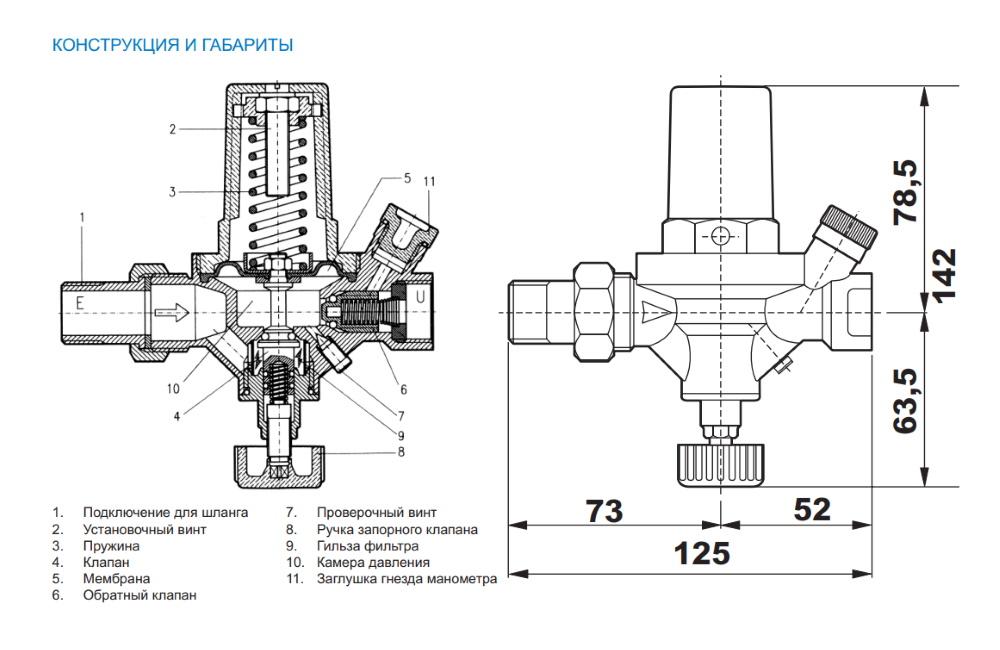 Подпитка системы отопления: схема, насос, клапан автоматической подпитки