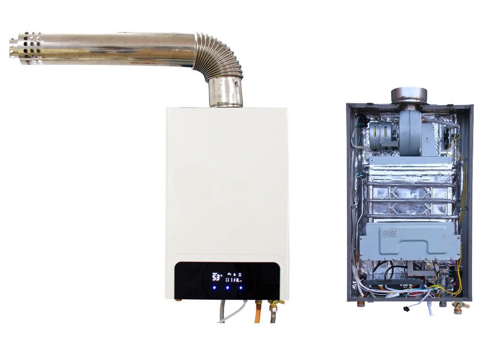 Проточная газовая колонка с закрытой камерой сгорания: особенности и принцип работы водонагревателя