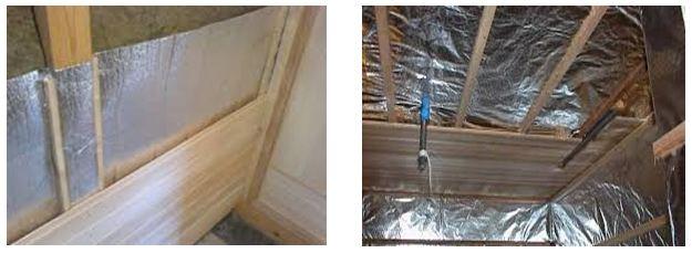 Фольгированный утеплитель для бани - строим баню или сауну