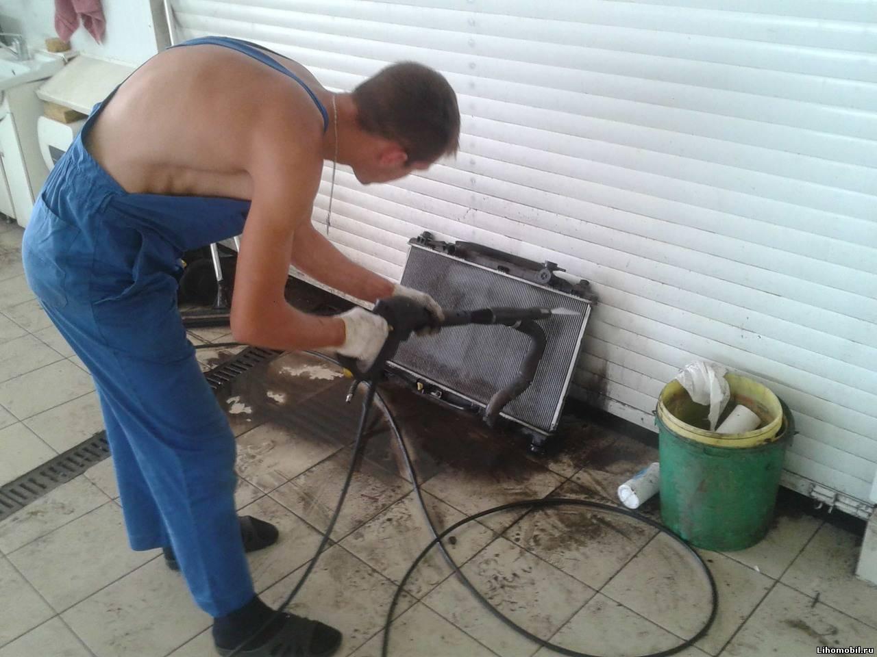 Как и чем промыть батареи отопления в домашних условиях