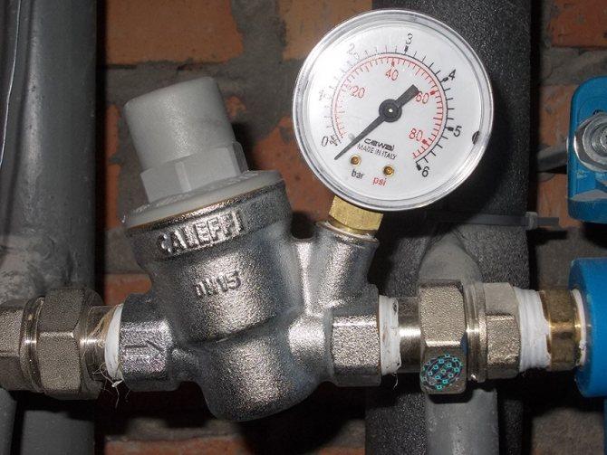 Подпитка системы отопления: клапаны, насосы, узлы и схемы