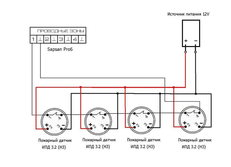 Какие пожарные датчики можно устанавливать один вместо трех