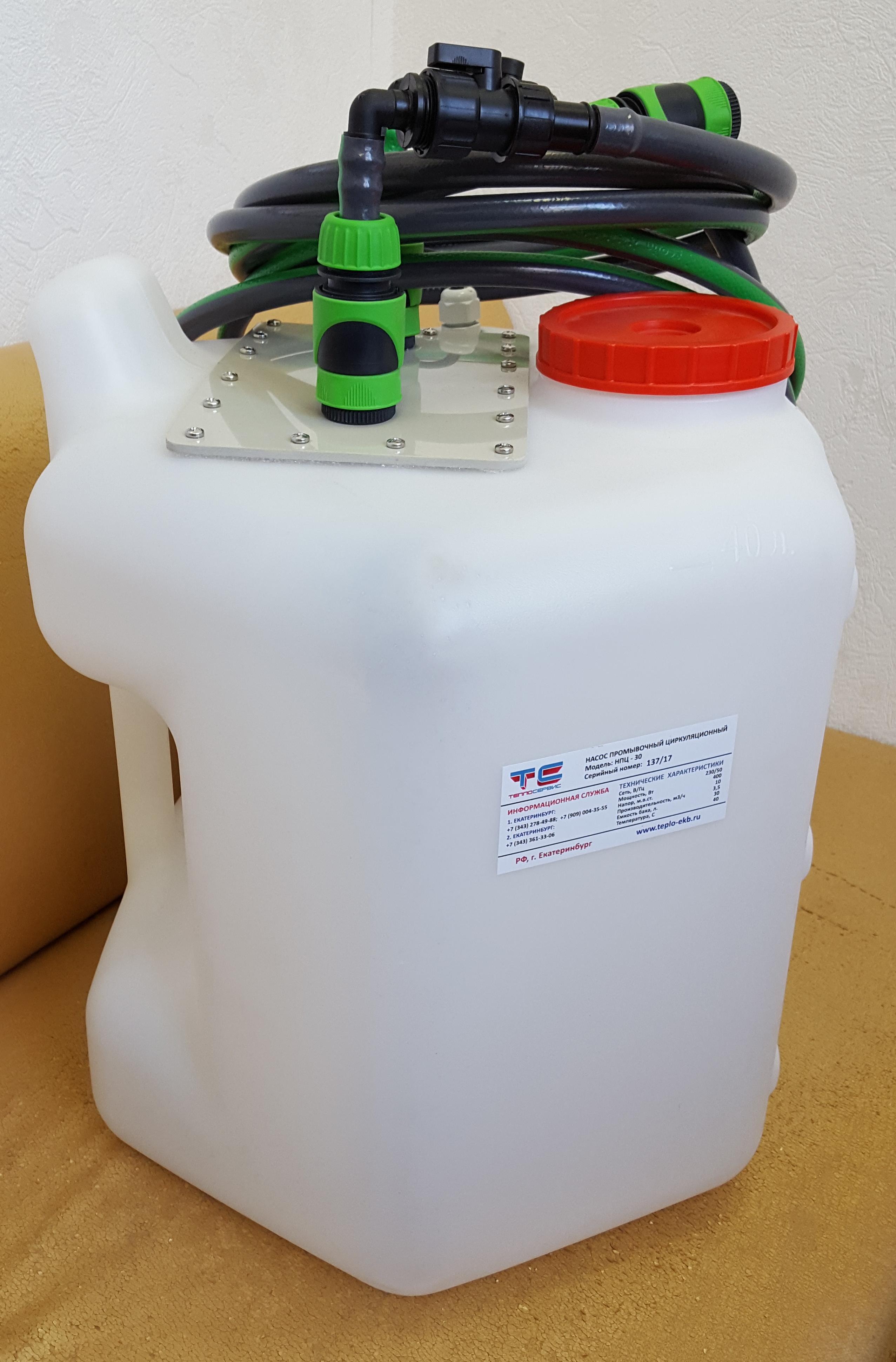 Теплообменник газовый: промывка своими руками