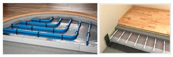 Выбираем покрытие и систему теплого пола под паркетную доску